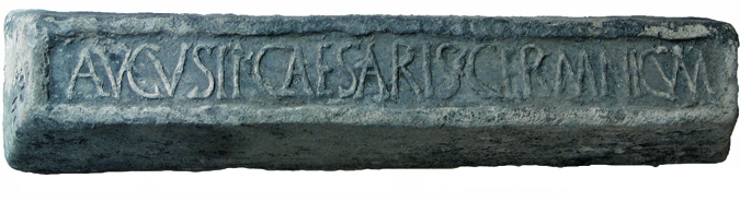 Germanic lead ingot from the shipwreck of Rena Maiore (Aglientu, North Sardinia)