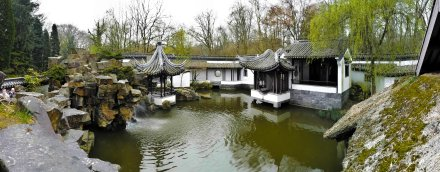 Panorama of the Chinese Garden