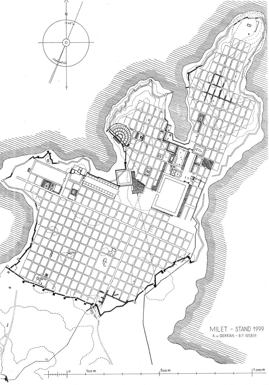 kleinasiatische antike stadt