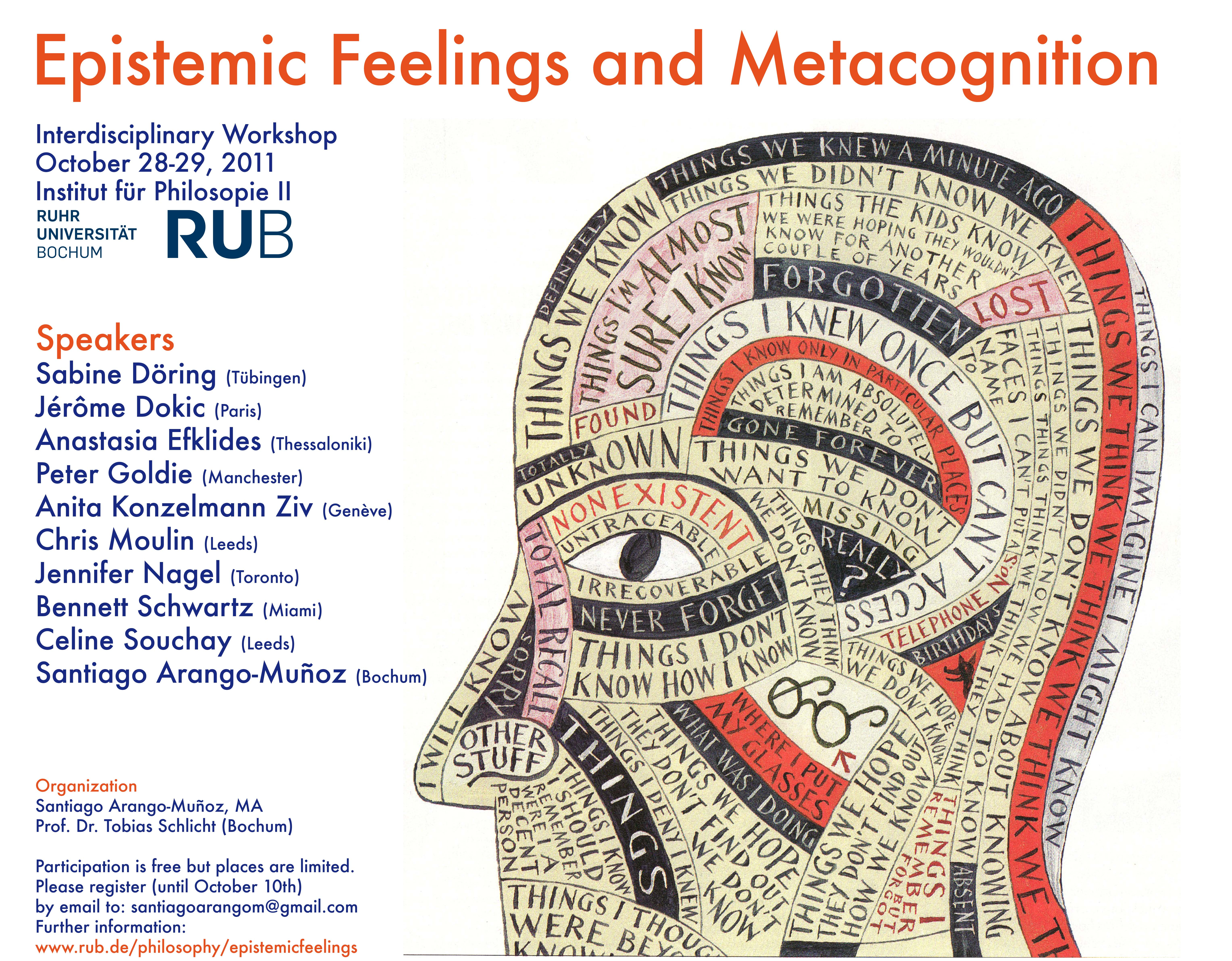 Eptistemic Feelings And Metacognition