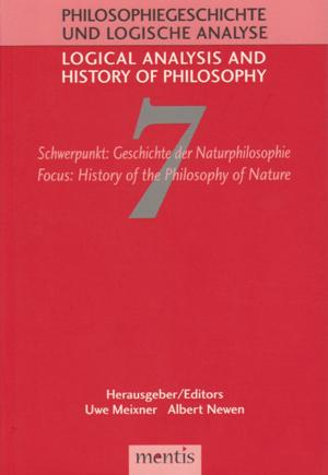 Essays in the history of logic and logical philosophy